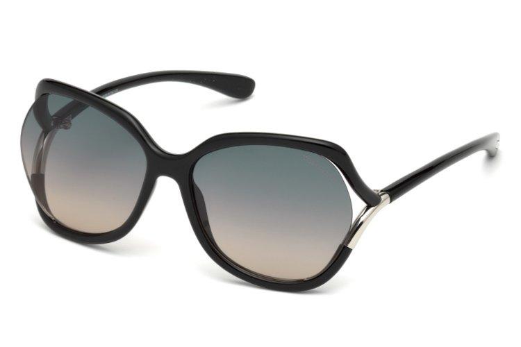 Tom Ford Damen Sonnenbrille » FT0578«, schwarz, 01B - schwarz/grau