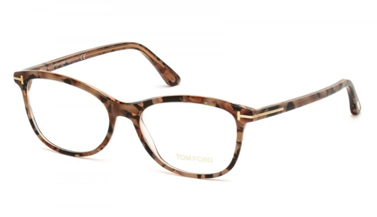 Tom Ford Damen Brille » FT5388«, braun, 055 - havana