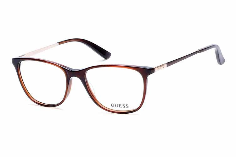 Guess Brille Damen Braun YFy6NZUNZ