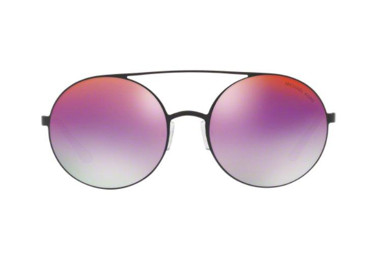 MICHAEL KORS Michael Kors Damen Sonnenbrille »CABO MK1027«, schwarz, 1169A9 - schwarz/ lila