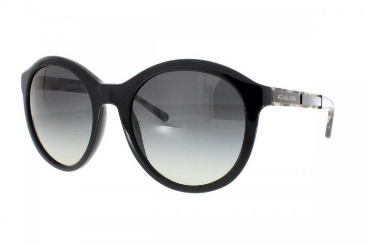 MICHAEL KORS Michael Kors Damen Sonnenbrille »MAE MK2048«, schwarz, 324911 - schwarz/grau