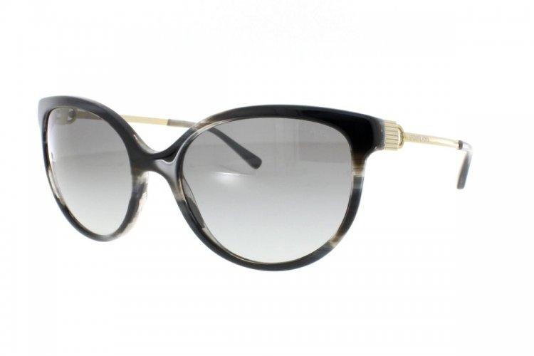MICHAEL KORS Michael Kors Damen Sonnenbrille »ABI MK2052«, schwarz, 328911 - schwarz/grau