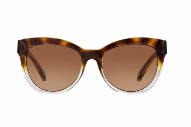 MICHAEL KORS Michael Kors Damen Sonnenbrille »MITZI I MK6035«, braun, 312513 - braun/braun
