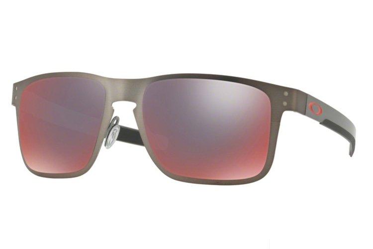 Oakley - Holbrook Metal Iridium Polarized - Sonnenbrille grau YKG07vtHF