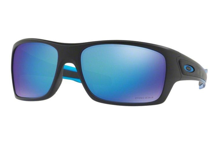 Oakley Turbine Prizm Sonnenbrille Blau/Rot NgS6vk