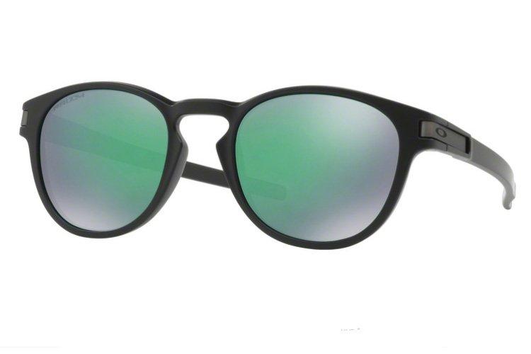 Oakley Herren Sonnenbrille »LATCH OO9265«, schwarz, 926528 - schwarz/grün