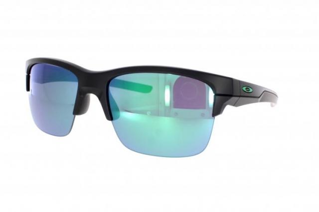 Oakley Thinlink Matte Black Jade Iridium Schwarz/Grün vZhT1