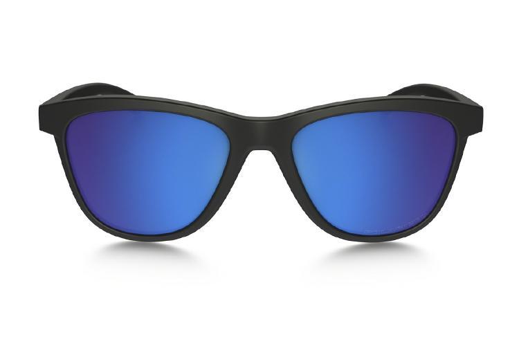Oakley Moonlighter Iridium Polarized Sonnenbrille Schwarz/Blau WKnWm5tEe