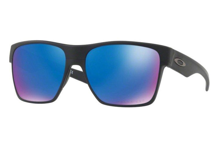 Oakley Twoface XL Iridium Polarized Sonnenbrille Schwarz/Blau zlBtDeww