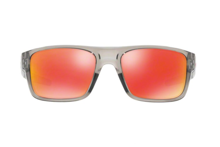 Oakley Drop Point Iridium Sonnenbrille Grau/Rot Wi2zZM7IT