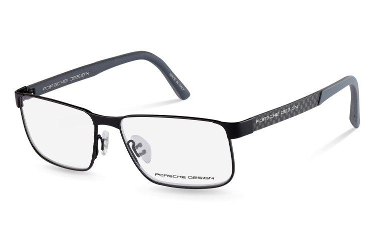 PORSCHE Design Porsche Design Herren Brille » P8222«, schwarz, A - schwarz