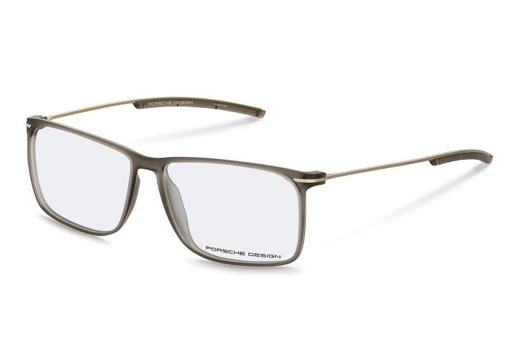 PORSCHE Design Porsche Design Herren Brille » P8296«, grau, B - grau