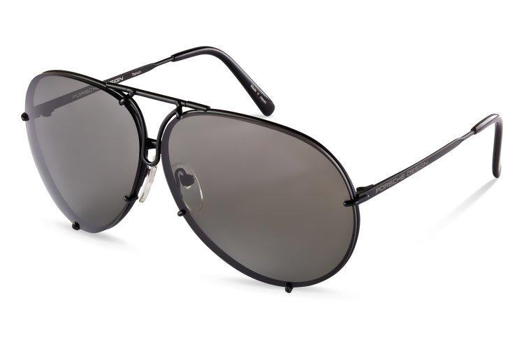 PORSCHE Design Porsche Design Sonnenbrille » P8478«, schwarz, D-olive - schwarz/ braun