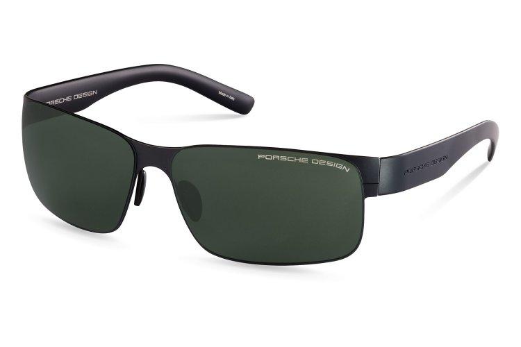 PORSCHE Design Porsche Design Herren Sonnenbrille » P8573«, schwarz, D - schwarz/schwarz