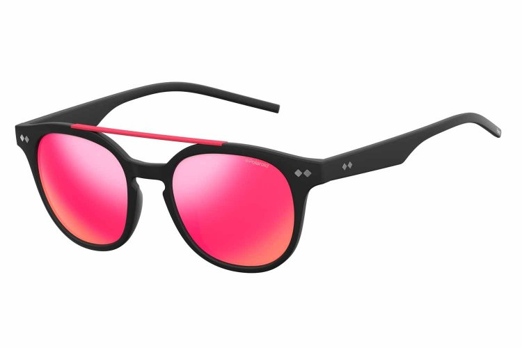 Polaroid Sonnenbrille » PLD 1023/S«, schwarz, DL5/AI - schwarz/ rosa