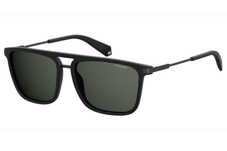 Polaroid Herren Sonnenbrille » PLD 2060/S«, schwarz, 003/M9 - schwarz/grau