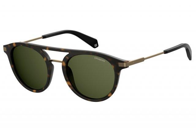 Polaroid Herren Sonnenbrille » PLD 2061/S«, braun, N9P/UC - braun/grün