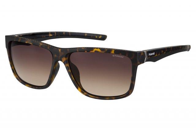 Polaroid Herren Sonnenbrille » PLD 7014/S«, braun, 086/LA - braun/braun