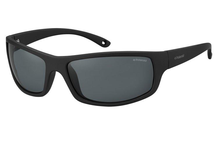 Polaroid Herren Sonnenbrille » PLD 7017/S«, schwarz, 807/M9 - schwarz/grau