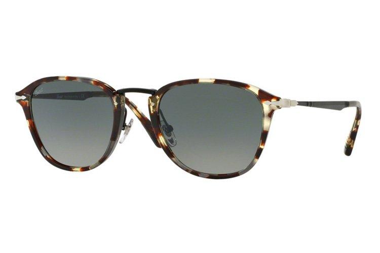 Persol PO3165S Sonnenbrille Havann Grau und Braun 105771 50mm EUoH5g