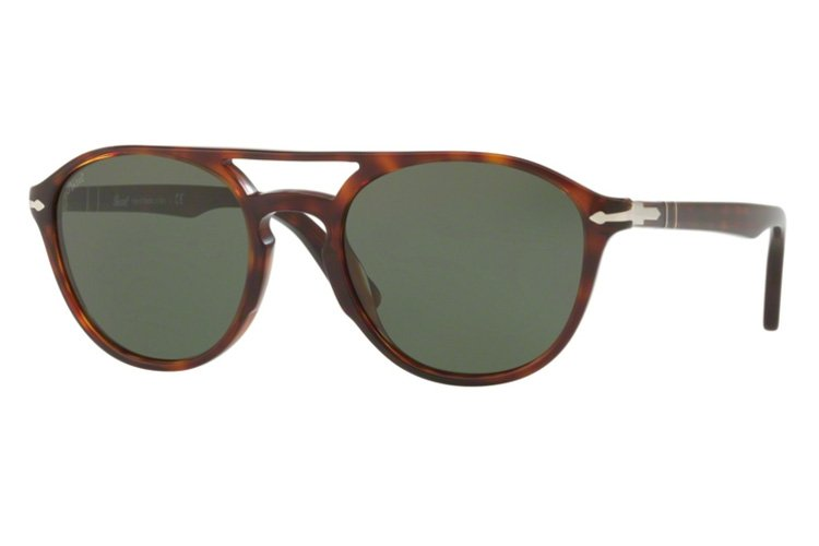 PERSOL Persol Herren Sonnenbrille » PO3170S«, braun, 901531 - braun/grün