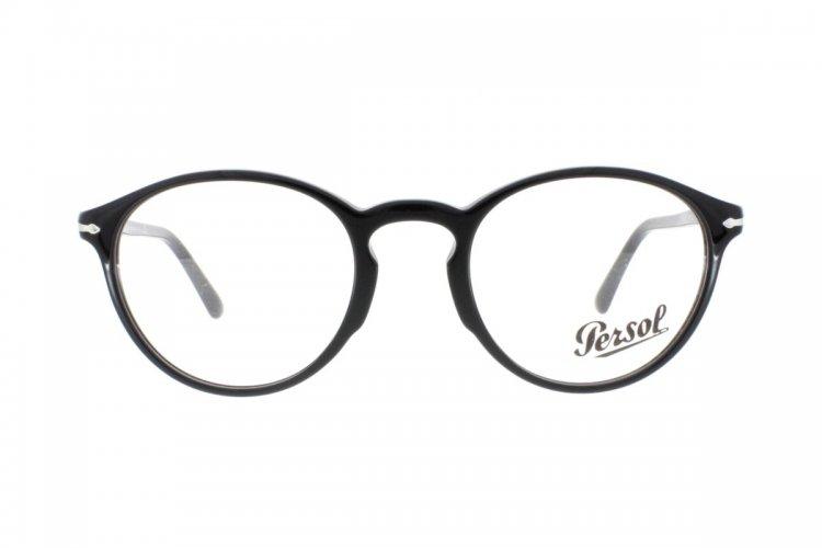 PERSOL Persol Herren Brille » PO3174V«, schwarz, 95 - schwarz