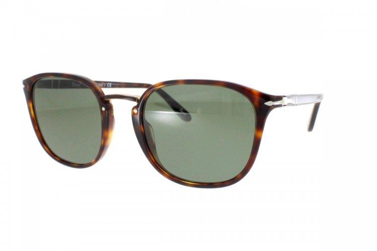 PERSOL Persol Herren Sonnenbrille » PO3186S«, braun, 24/31 - braun/grün