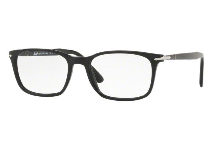 PERSOL Persol Herren Brille » PO3189V«, schwarz, 95 - schwarz