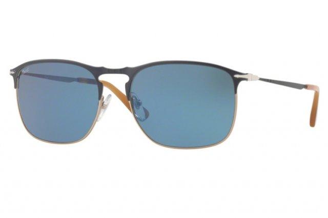 Persol PO7359S Sonnenbrille Blau / Hellbraun 107156 55mm vuu46jFF
