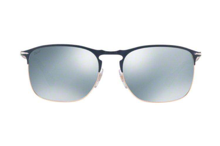 PERSOL Persol Herren Sonnenbrille » PO7359S«, blau, 107330 - blau/silber