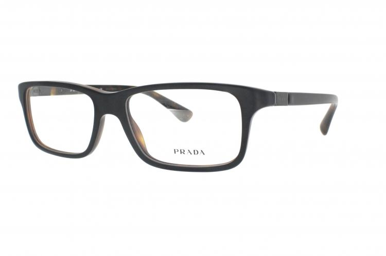 415e04d1f55aa Prada Brille PR 06SV UBH1O1 schwarz