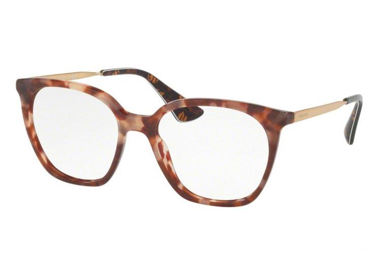PRADA Prada Damen Brille » PR 11TV«, rosa, UE01O1 - rosa
