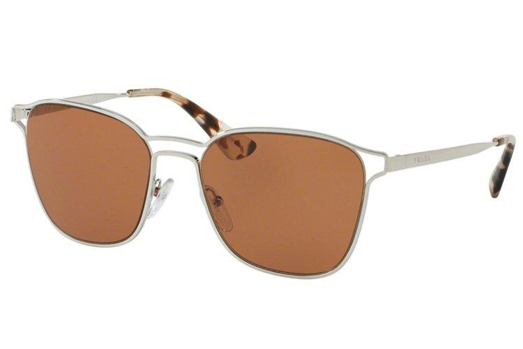 Prada Sonnenbrille 54TS 1BC6N0 Silver, 55