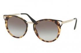 PRADA Prada Herren Sonnenbrille » PR 08US«, braun, 2AU8C1 - braun/braun
