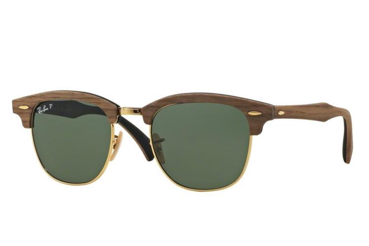 ray ban sonnenbrille holzoptik