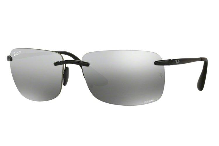 RAY BAN RAY-BAN Herren Sonnenbrille » RB4255«, schwarz, 601/5J - schwarz/silber