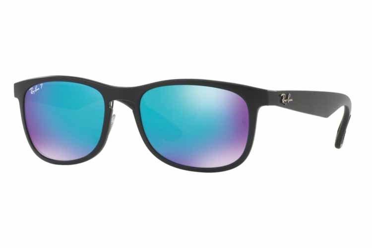 RAY BAN RAY-BAN Herren Sonnenbrille » RB4263«, schwarz, 601SA1 - schwarz/blau
