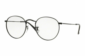 ray ban runde brille silber