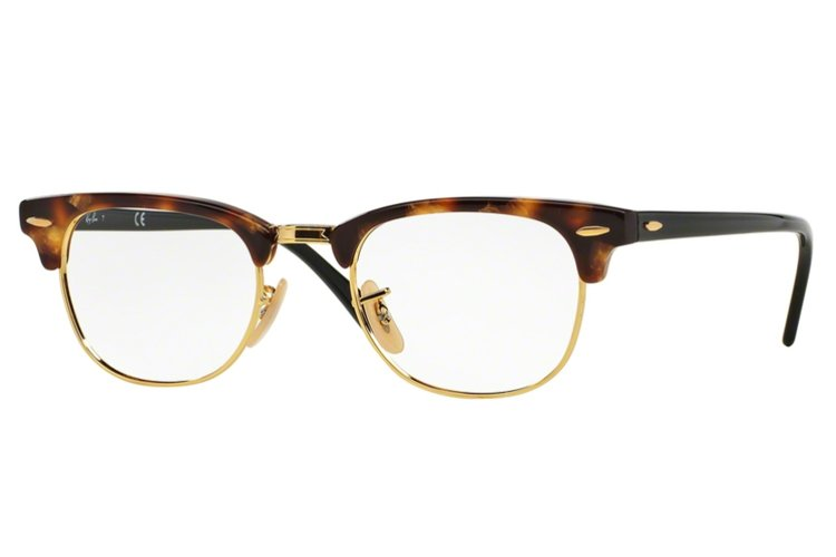 Fossil Tortoise Shell Glasses