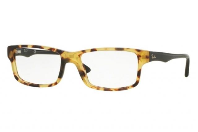 RAY BAN RAY-BAN Herren Brille » RX5245«, gelb, 5608 - gelb