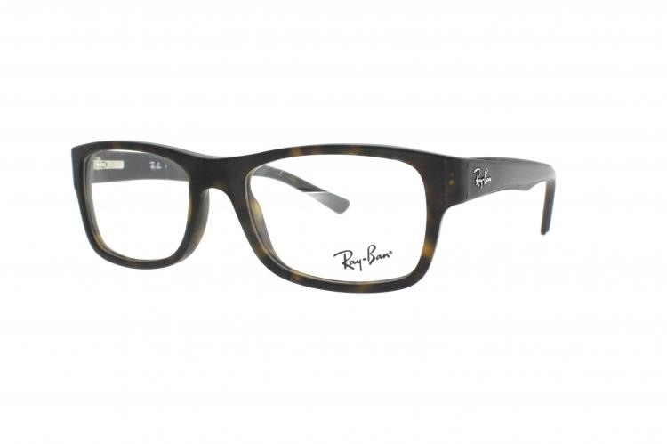ray ban brille matt braun