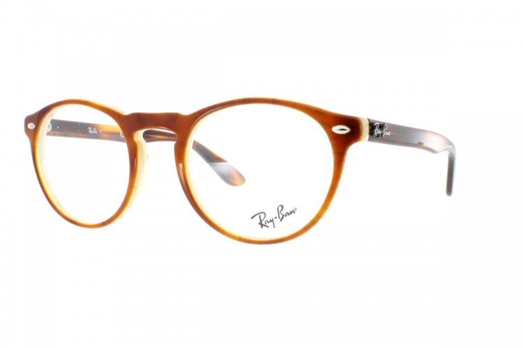 RAY BAN RAY-BAN Herren Brille » RX5283«, braun, 5677 - braun