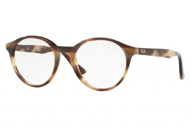 RAY BAN RAY-BAN Brille » RX6406«, schwarz, 2904 - schwarz