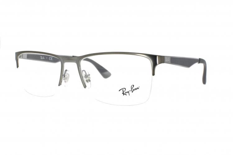 ray ban brille grau gelb