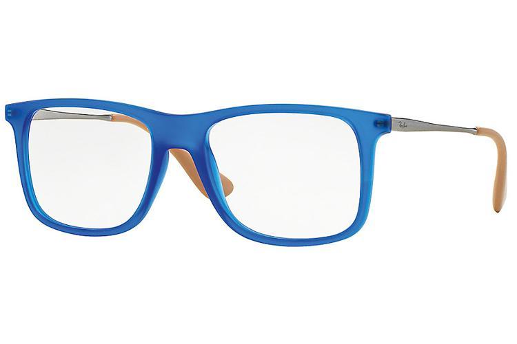 ray ban sehbrille blau