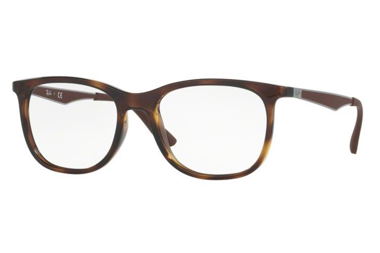 ray ban braun brille