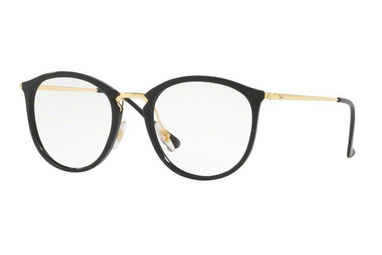 RAY BAN RAY-BAN Brille » RX7140«, schwarz, 2000 - schwarz