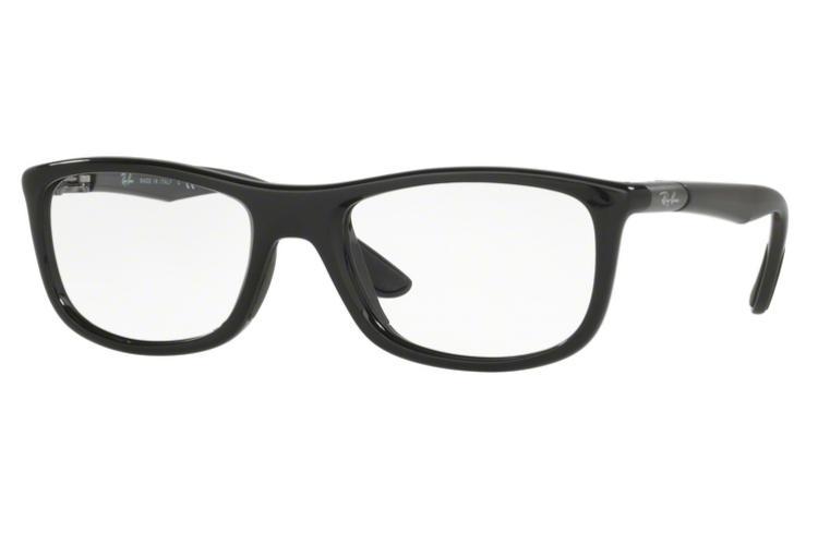 RAY BAN RAY-BAN Herren Brille » RX8951«, schwarz, 5603 - schwarz