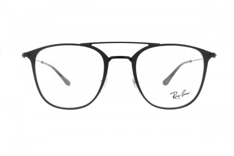 RAY BAN RAY-BAN Brille » RX6377«, schwarz, 2904 - schwarz