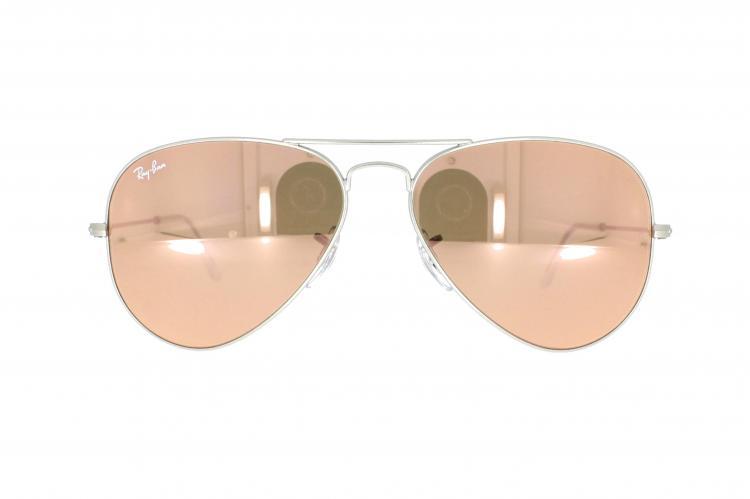 Rosa Verspiegelte Sonnenbrille für Damen 4ODPoH9Jl3